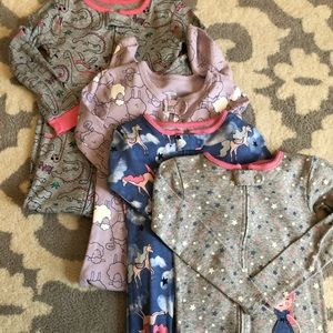 Other - Little Girl's Lot of 4 Pajamas